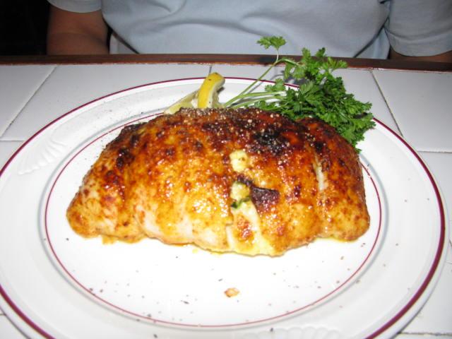 Alexander's Stuffed Flounder