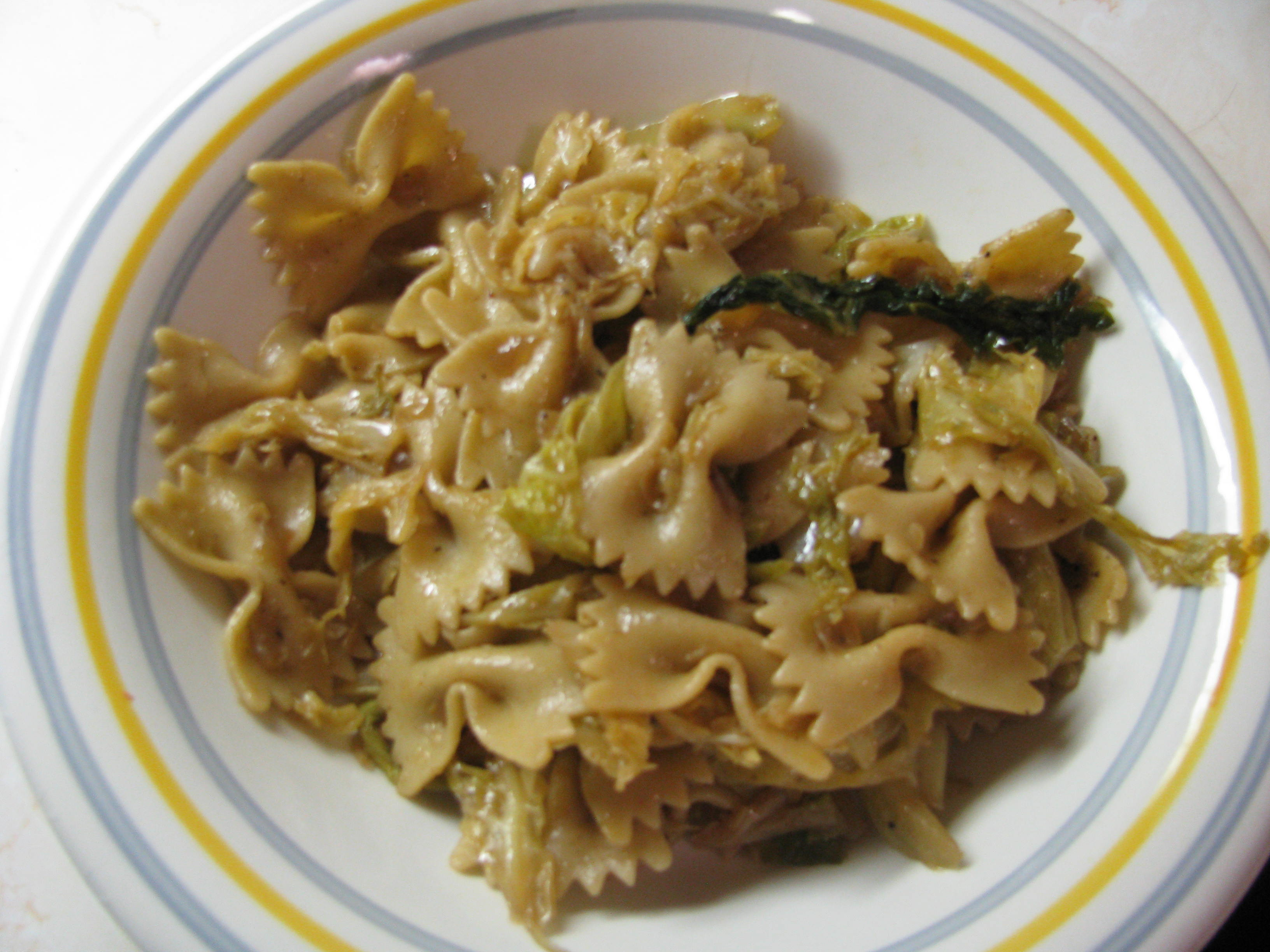 Haluski Noodles and Cabbage