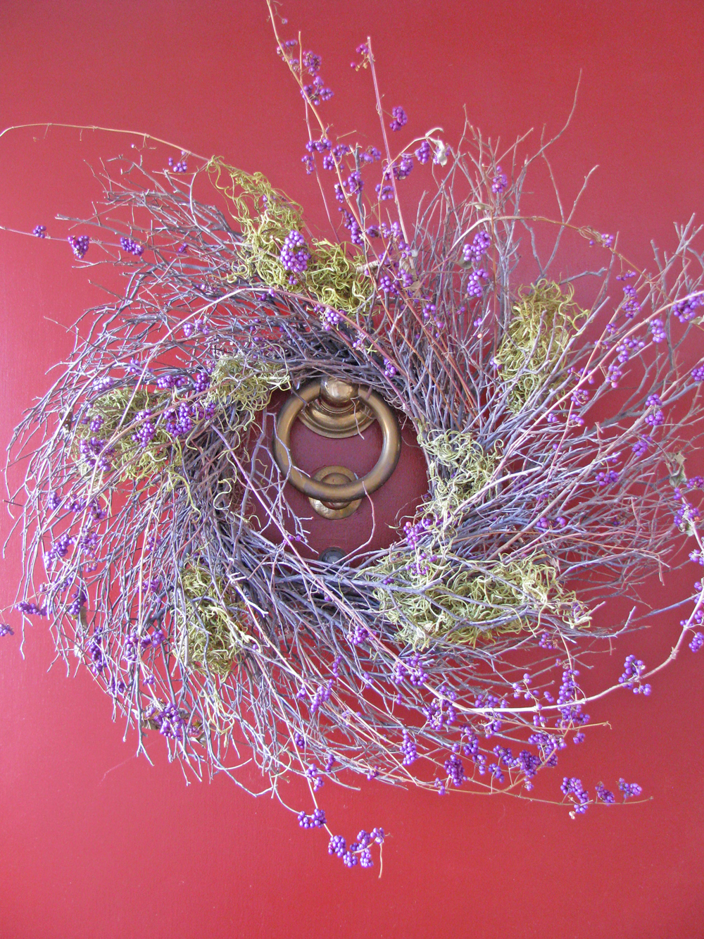 Repurposed Lenten Wreath