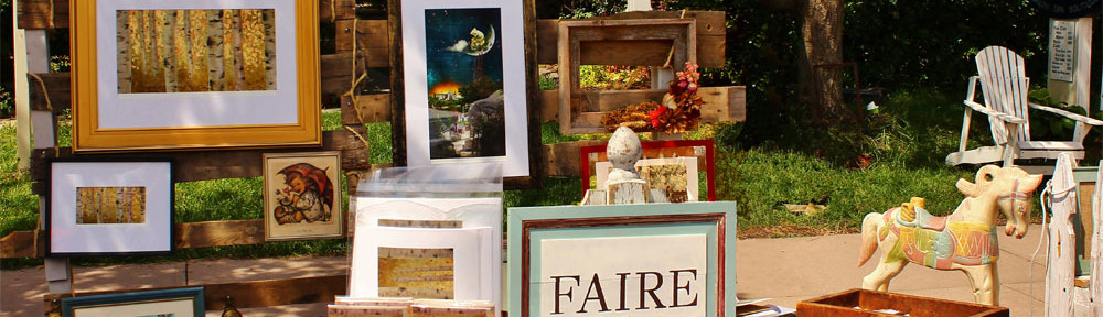 Faire market stall